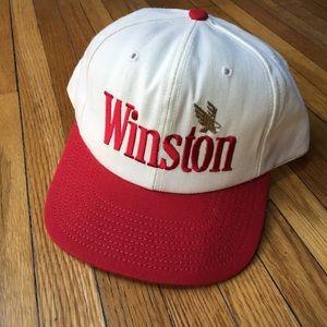 Vintage 90s Winston Cigarettes SnapBack